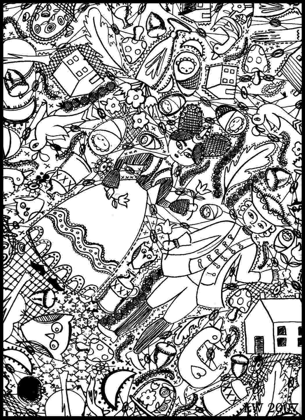 doodle art coloring book doodle art to print for free doodle art kids coloring pages art coloring doodle book