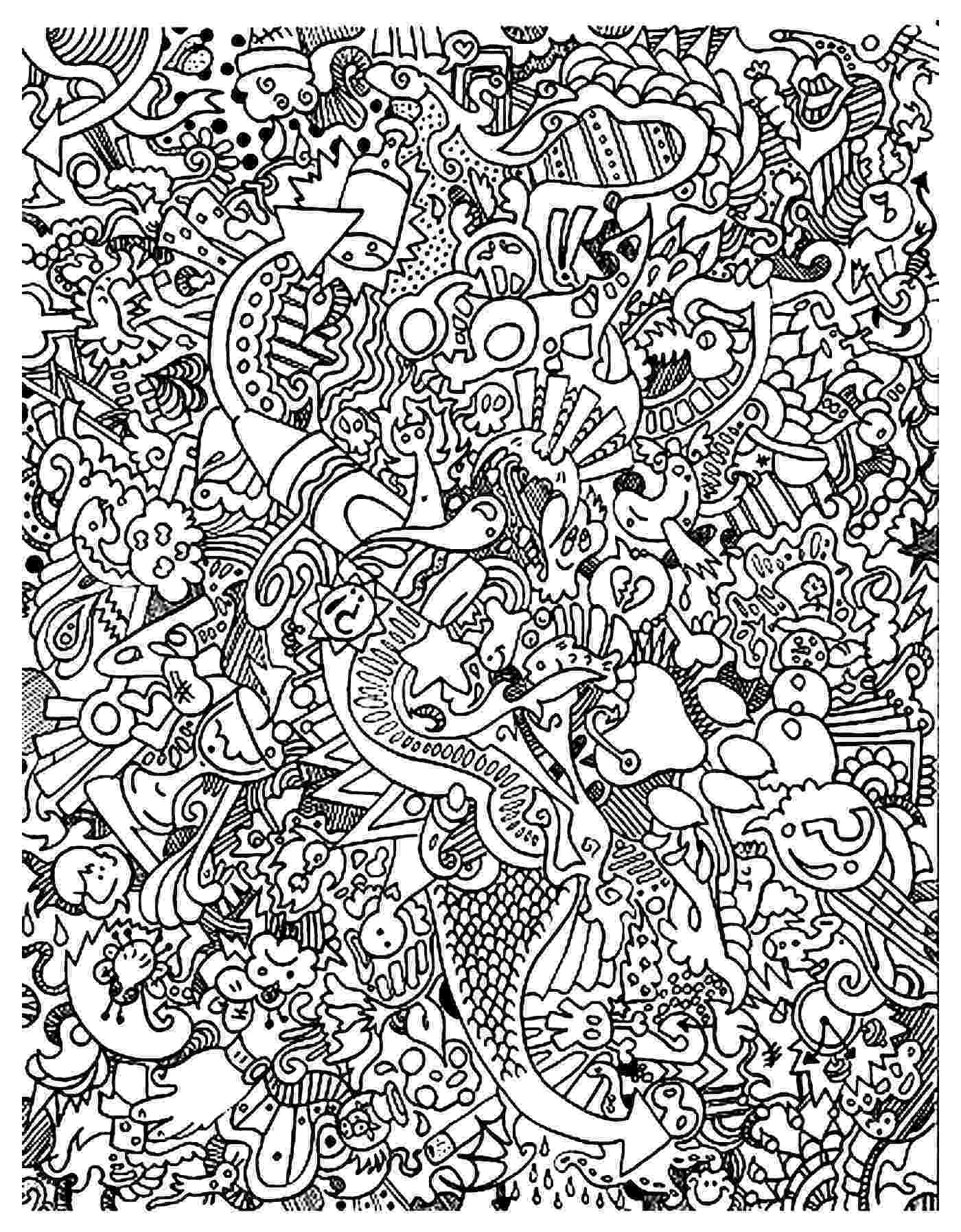 doodle art colouring abstract doodle coloring page free printable coloring pages doodle colouring art