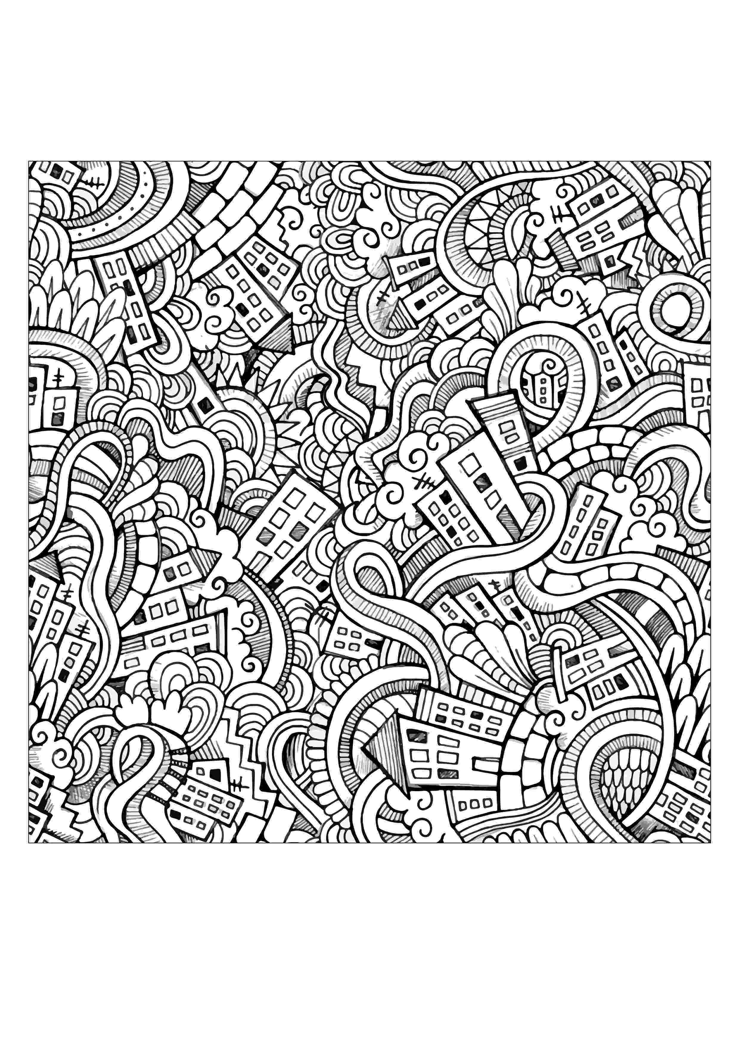 doodle art colouring angela porter20170118001editedsmall coloring pages in art colouring doodle