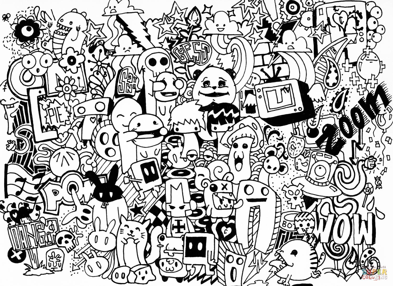 doodle art colouring doodle art coloring pages free coloring pages doodle doodle colouring art