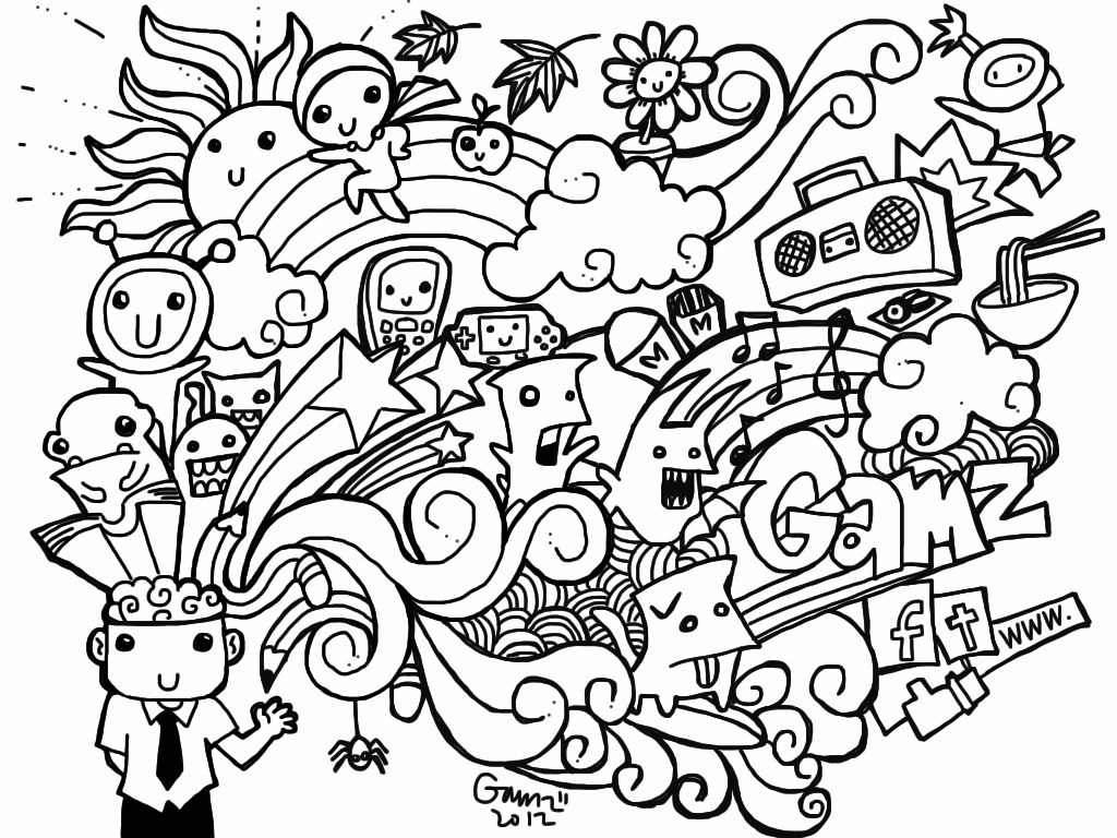 doodle art colouring doodle coloring pages best coloring pages for kids doodle colouring art