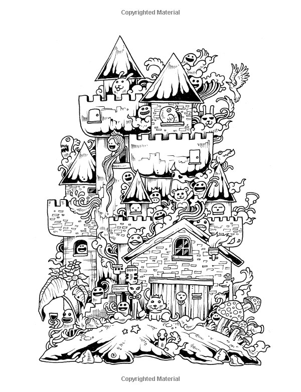 doodle invasion zifflins coloring book free fusión del doodle libro de colorante de zifflin volumen book invasion free coloring zifflins doodle