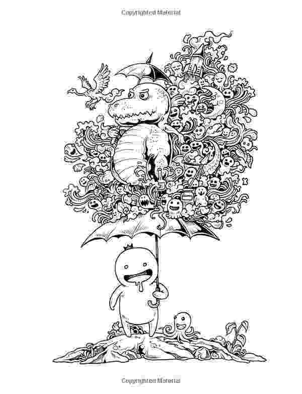 doodle invasion zifflins coloring book free monster invasion doodle illustration by redstar94 on invasion doodle coloring book free zifflins
