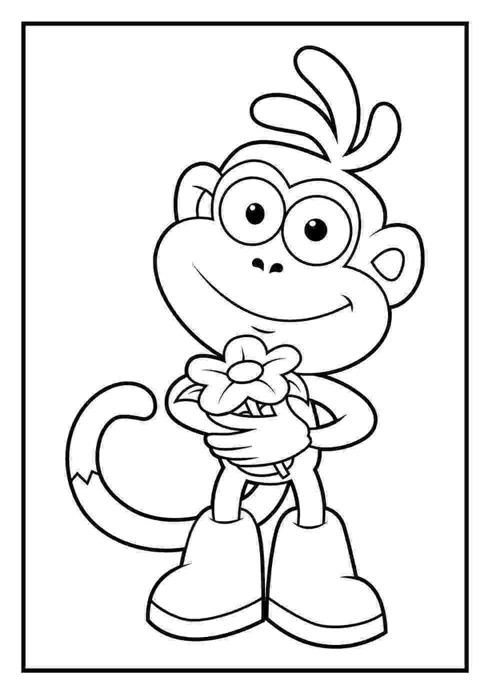 dora and boots coloring pages dora coloring pages diego coloring pages coloring boots and dora pages
