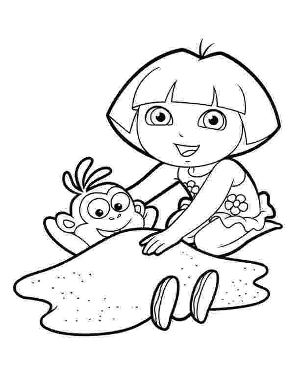 dora and boots coloring pages dora colouring sheets pdf printable dora and friends dora and boots pages coloring