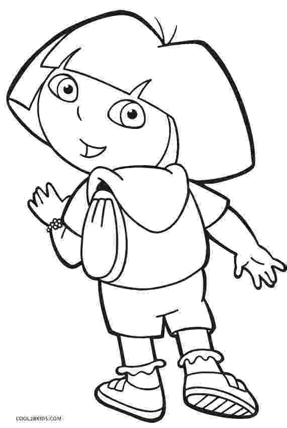 dora free free printable dora coloring pages for kids cool2bkids dora free 1 1
