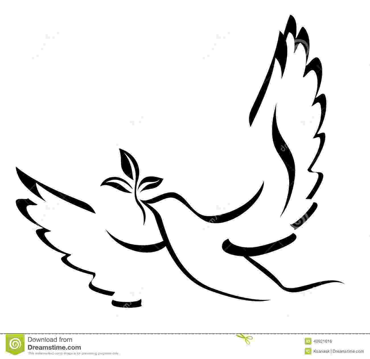 dove holding olive branch dove holding olive branch pattern easter template dove holding olive branch