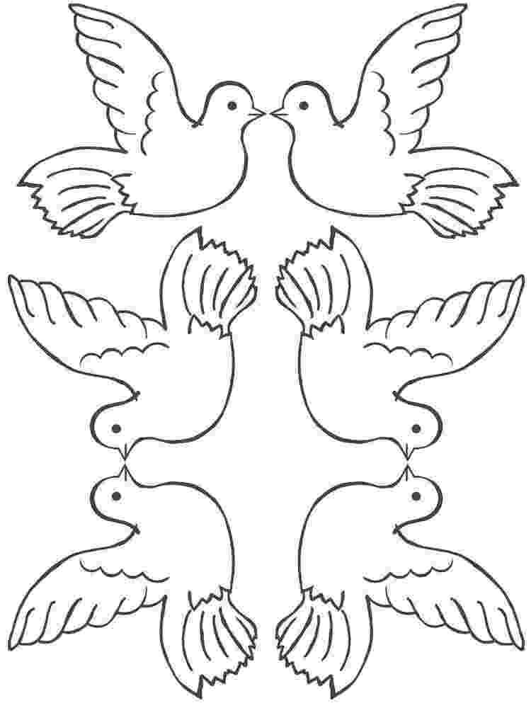 doves coloring pages collared dove coloring page supercoloringcom coloring doves pages