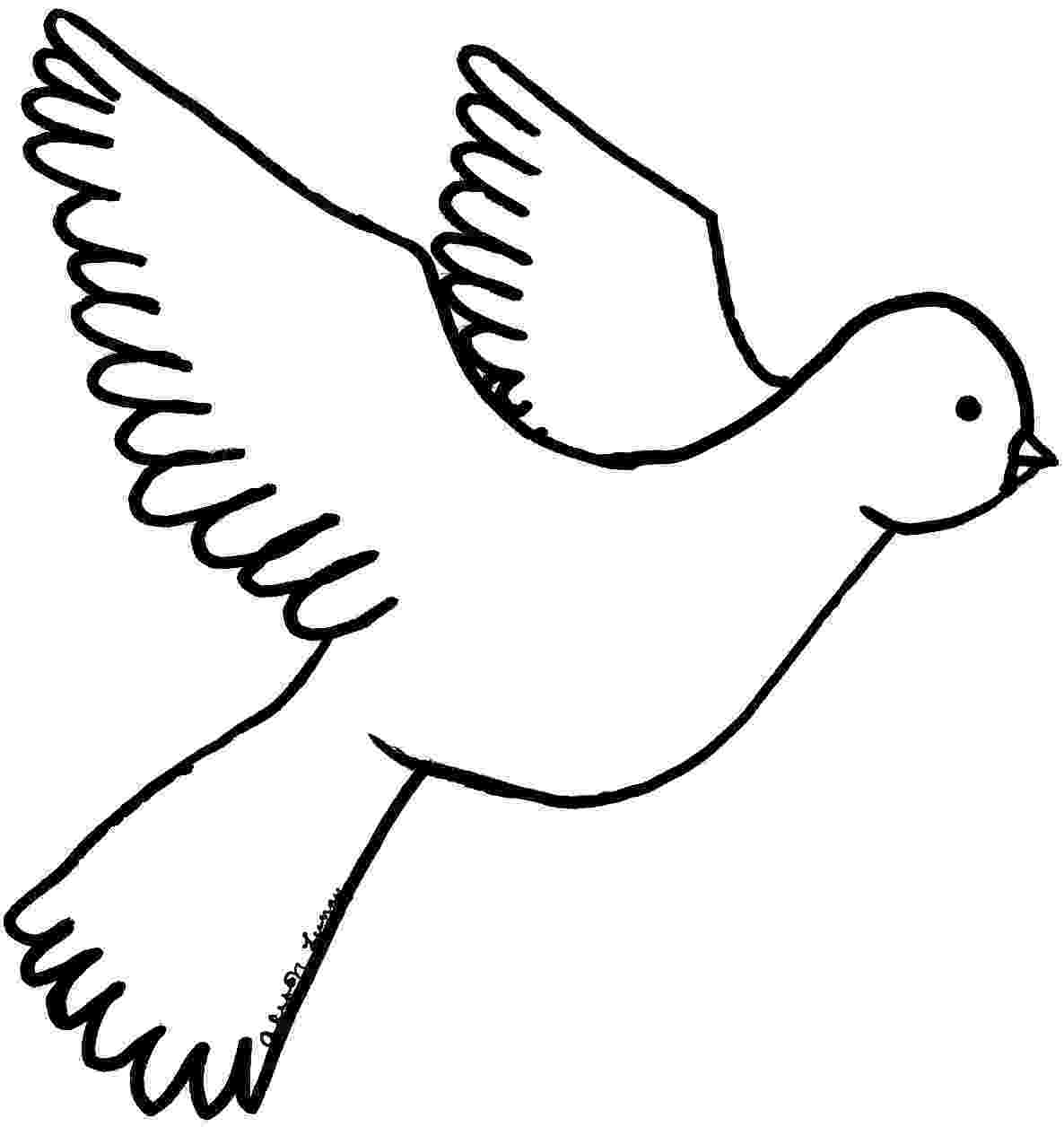 doves coloring pages dove drawing images at getdrawingscom free for personal coloring pages doves