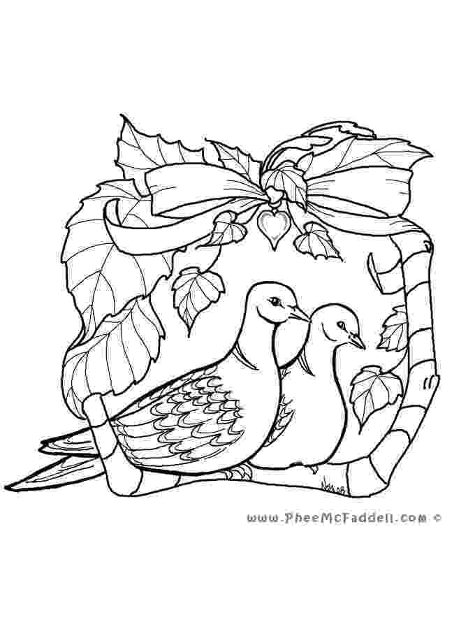 doves coloring pages turtle doves coloring page free printable coloring pages pages coloring doves