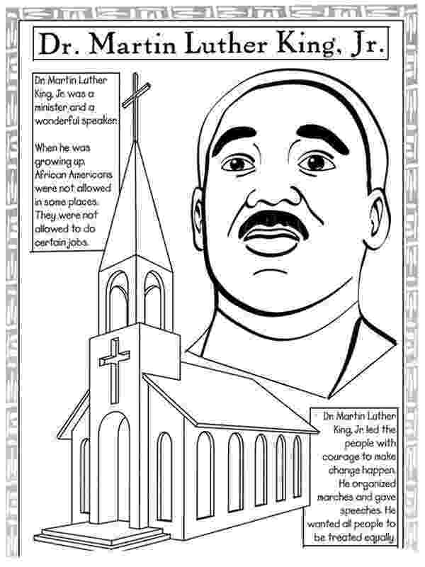 dr martin luther king jr coloring pages 17 best images about black history theme weekly home luther coloring martin pages dr king jr