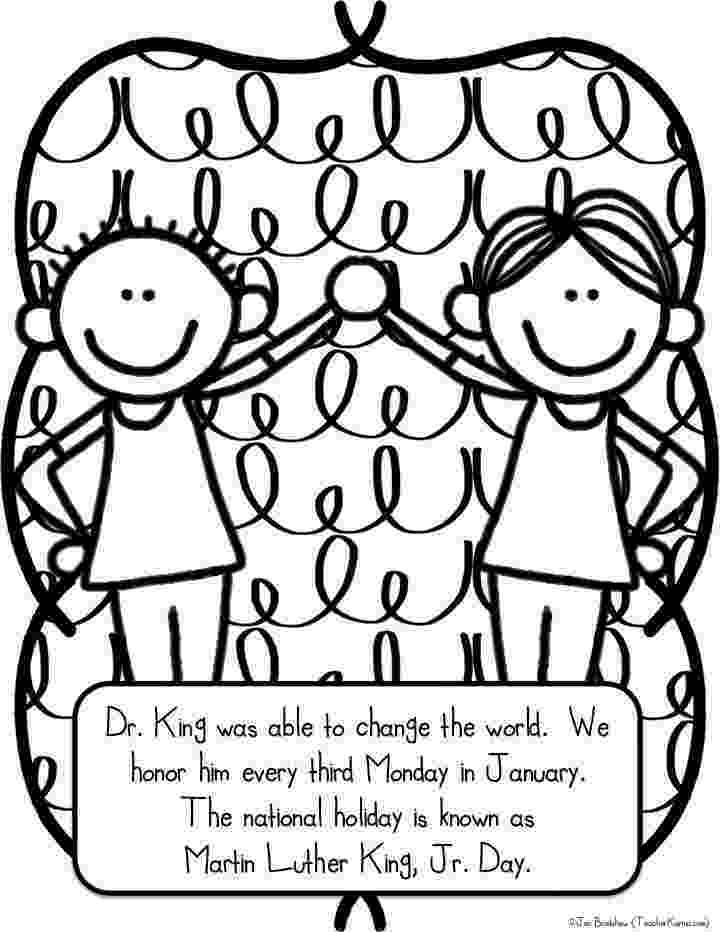 dr martin luther king jr coloring pages martin luther king jr freebie teacher karma king coloring jr pages martin luther dr