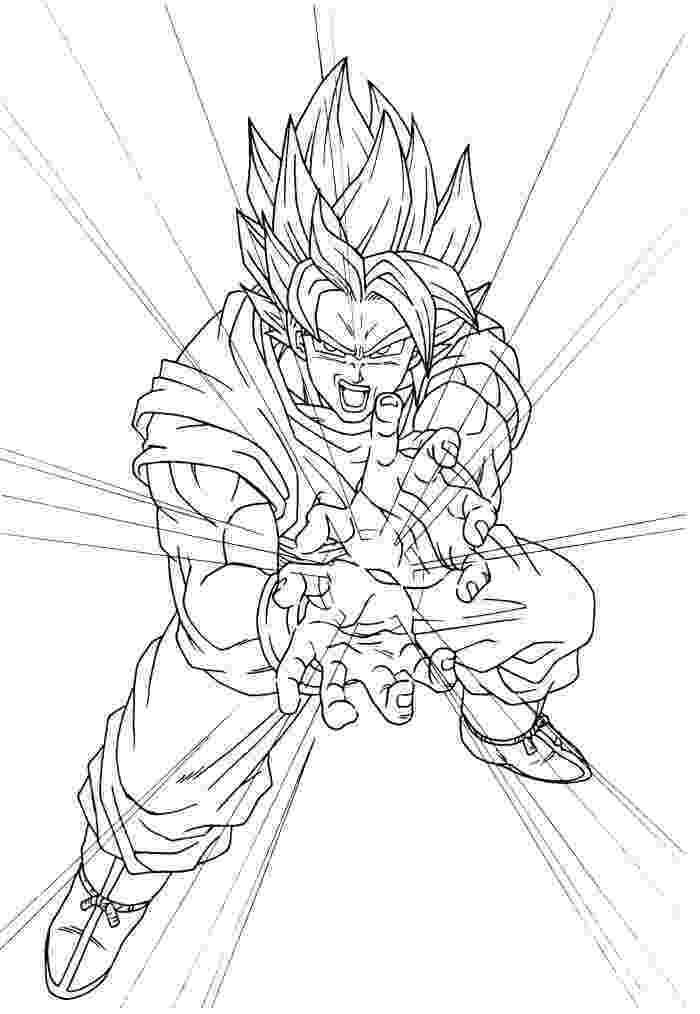 dragon ball z color free printable dragon ball z coloring pages for kids color ball z dragon