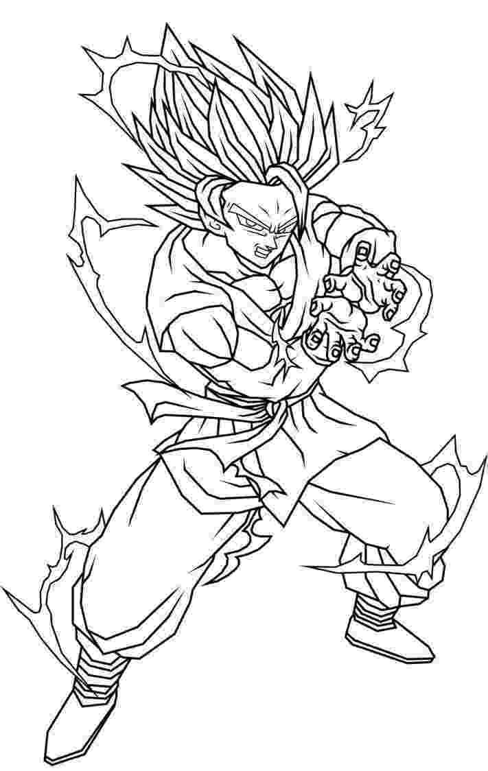 dragon ball z color free printable dragon ball z coloring pages for kids z ball dragon color