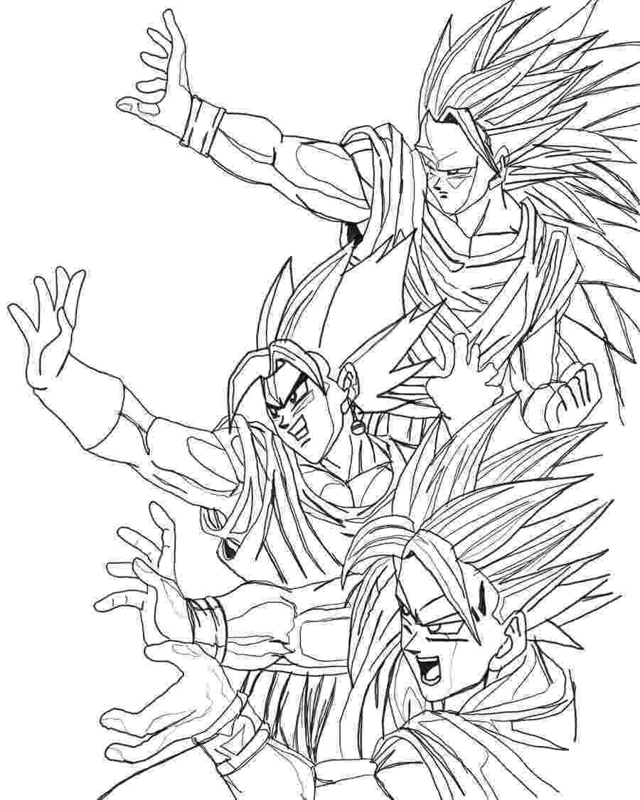 dragon ball z coloring pages printable free printable dragon ball z coloring pages for kids ball coloring printable dragon pages z