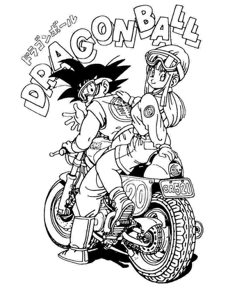dragon ball z free coloring pages free printable dragon ball z coloring pages for kids pages free z coloring dragon ball
