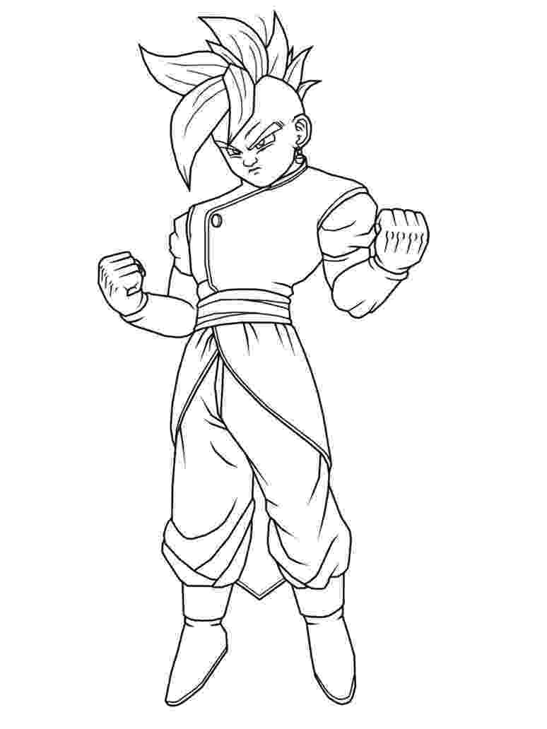 dragon ball z free coloring pages free printable dragon ball z coloring pages for kids z free pages dragon coloring ball