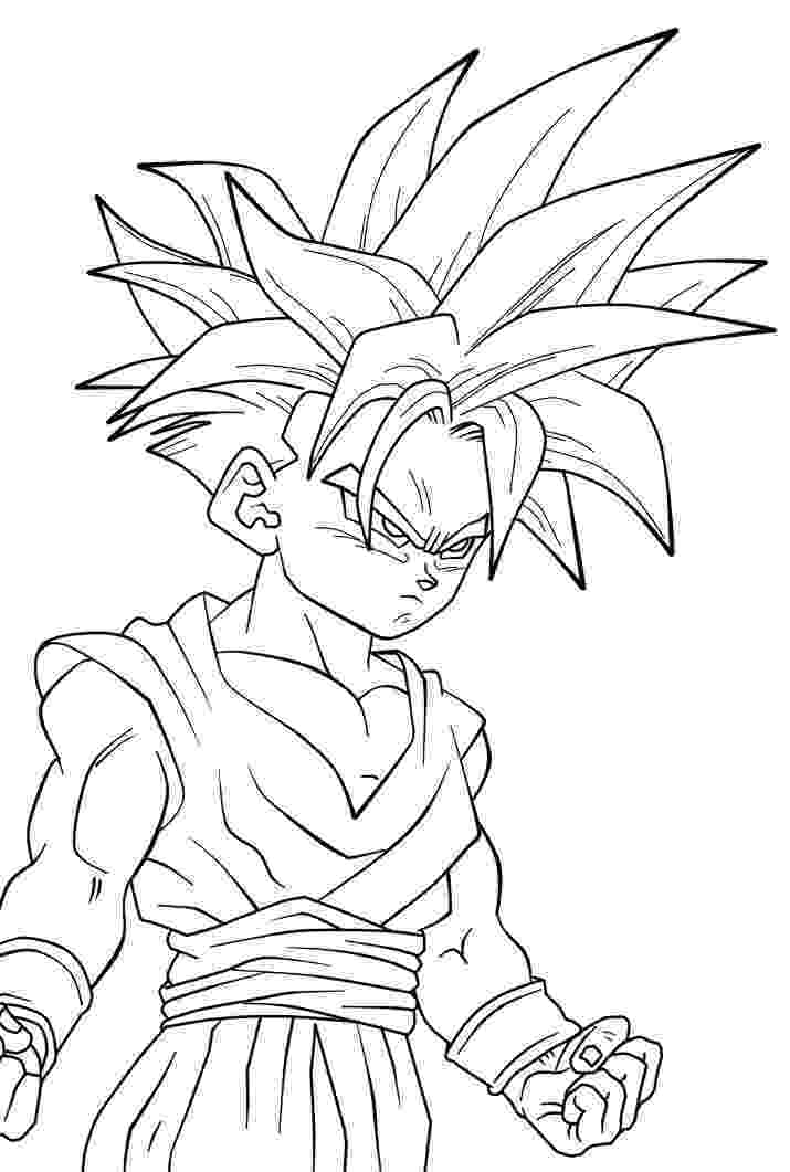 dragon ball z free coloring pages son gohan super saiyajin dragon ball z kids coloring pages dragon z ball pages coloring free