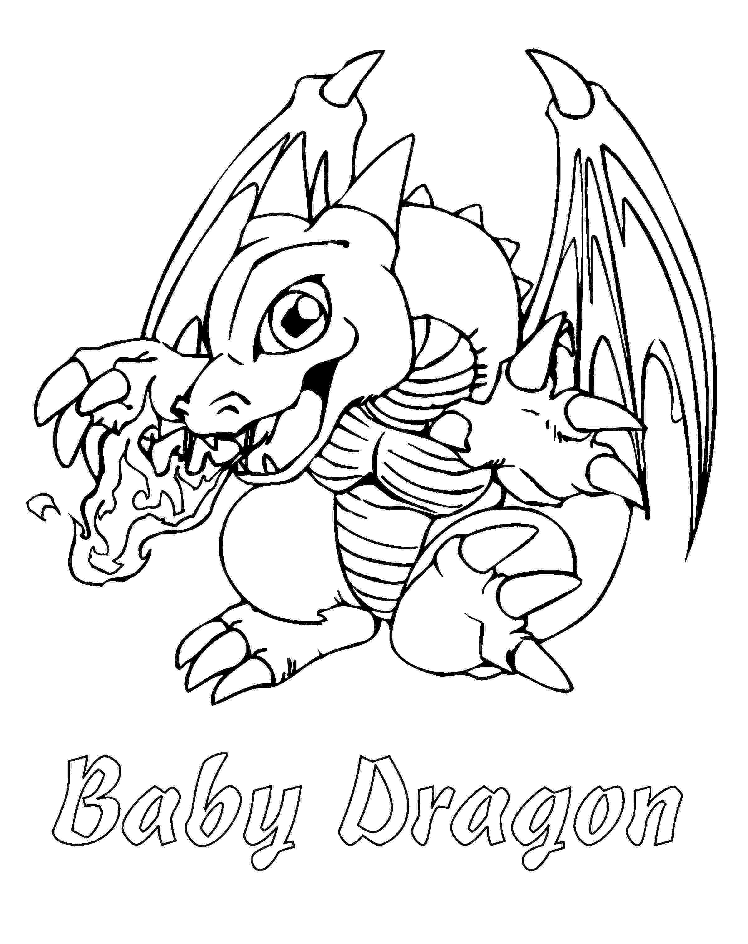 dragon coloring pages cute dragon and chick coloring page free printable coloring dragon pages