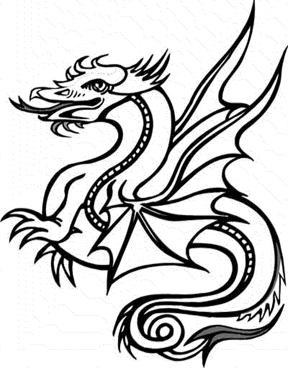 dragon coloring pages to print dragon coloring pages for adults to download and print for to print dragon coloring pages