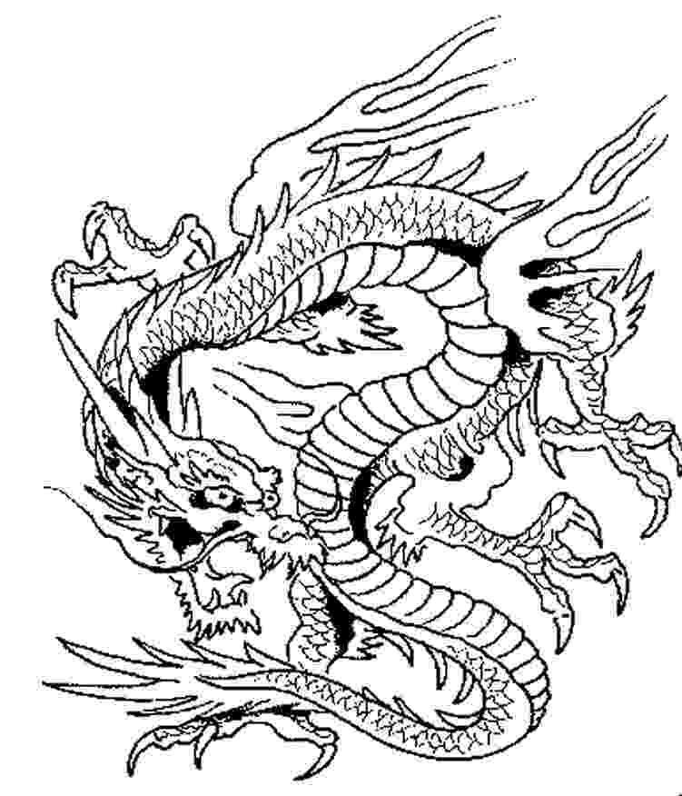 dragon images to color free printable chinese dragon coloring pages for kids color dragon images to