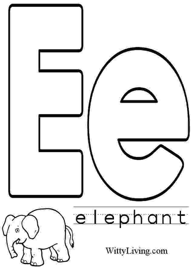 e coloring pages lowercase e coloring pages download and print for free e pages coloring
