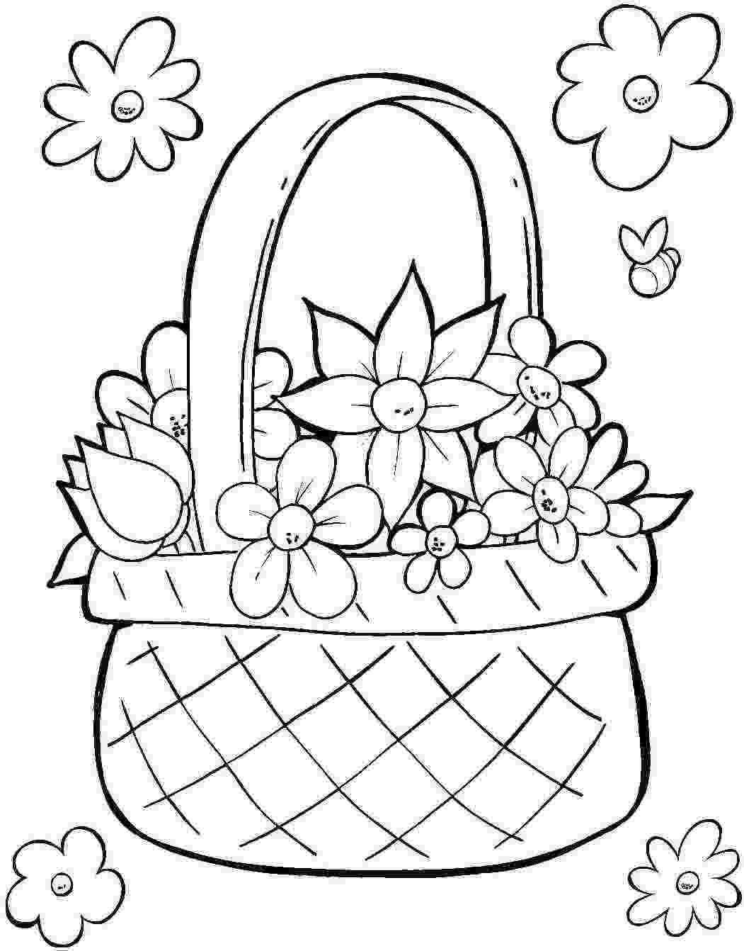 easter basket coloring sheet easter online coloring pages page 1 basket easter sheet coloring