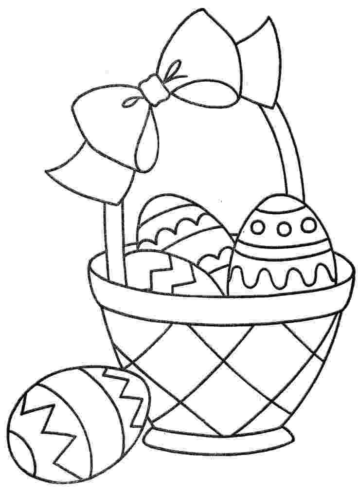 easter basket coloring sheet ehejojinud easter eggs in a basket coloring basket sheet coloring easter