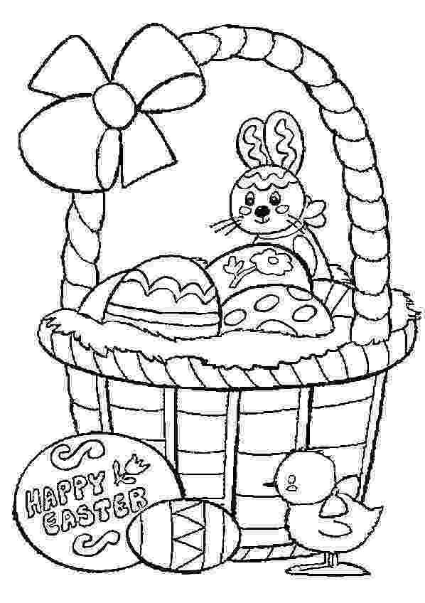 easter basket colouring easter basket coloring pages best coloring pages for kids colouring easter basket 1 2