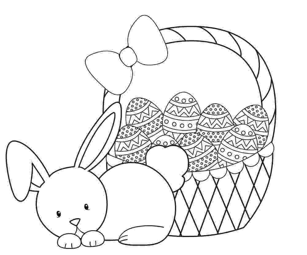 easter basket colouring easter pages to color coloring pages part 3 basket colouring easter