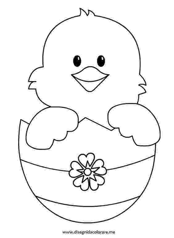 easter chick colouring cute easter chick coloring page easter template easter colouring chick