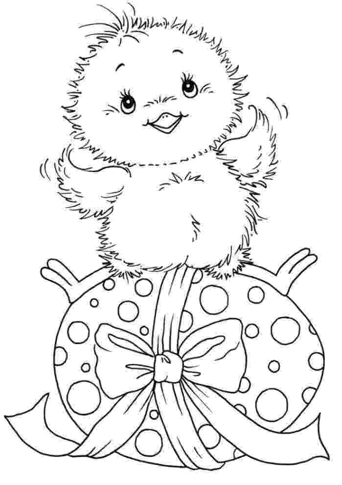 easter chick colouring easter cute chick coloring page chick colouring easter