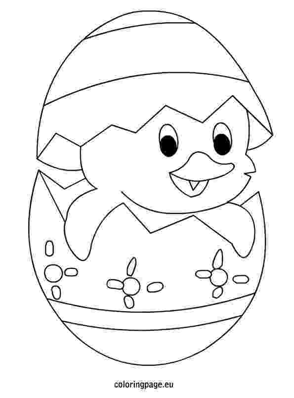 easter chick colouring easy easter egg q tip painting free printable template chick colouring easter