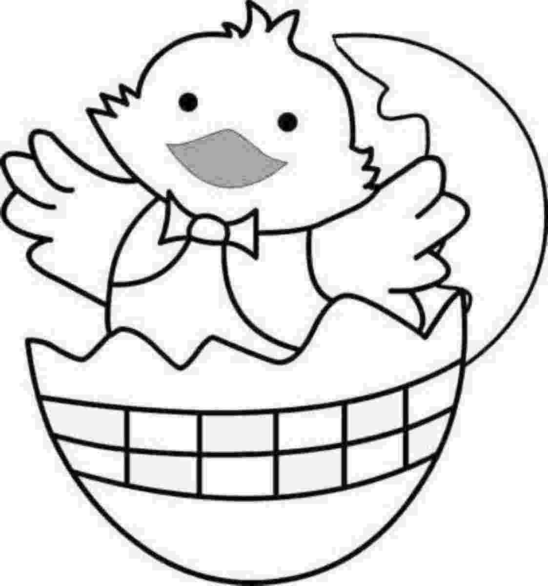 easter chick colouring free easter coloring pages for kids 123 kids fun apps colouring chick easter