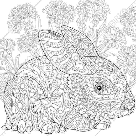 easter colouring pages printable for adults easter bunny rabbit hare 3 coloring pages animal coloring easter printable colouring adults pages for