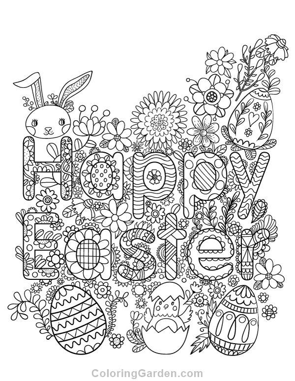easter colouring pages printable for adults happy easter adult coloring page pages colouring printable adults for easter