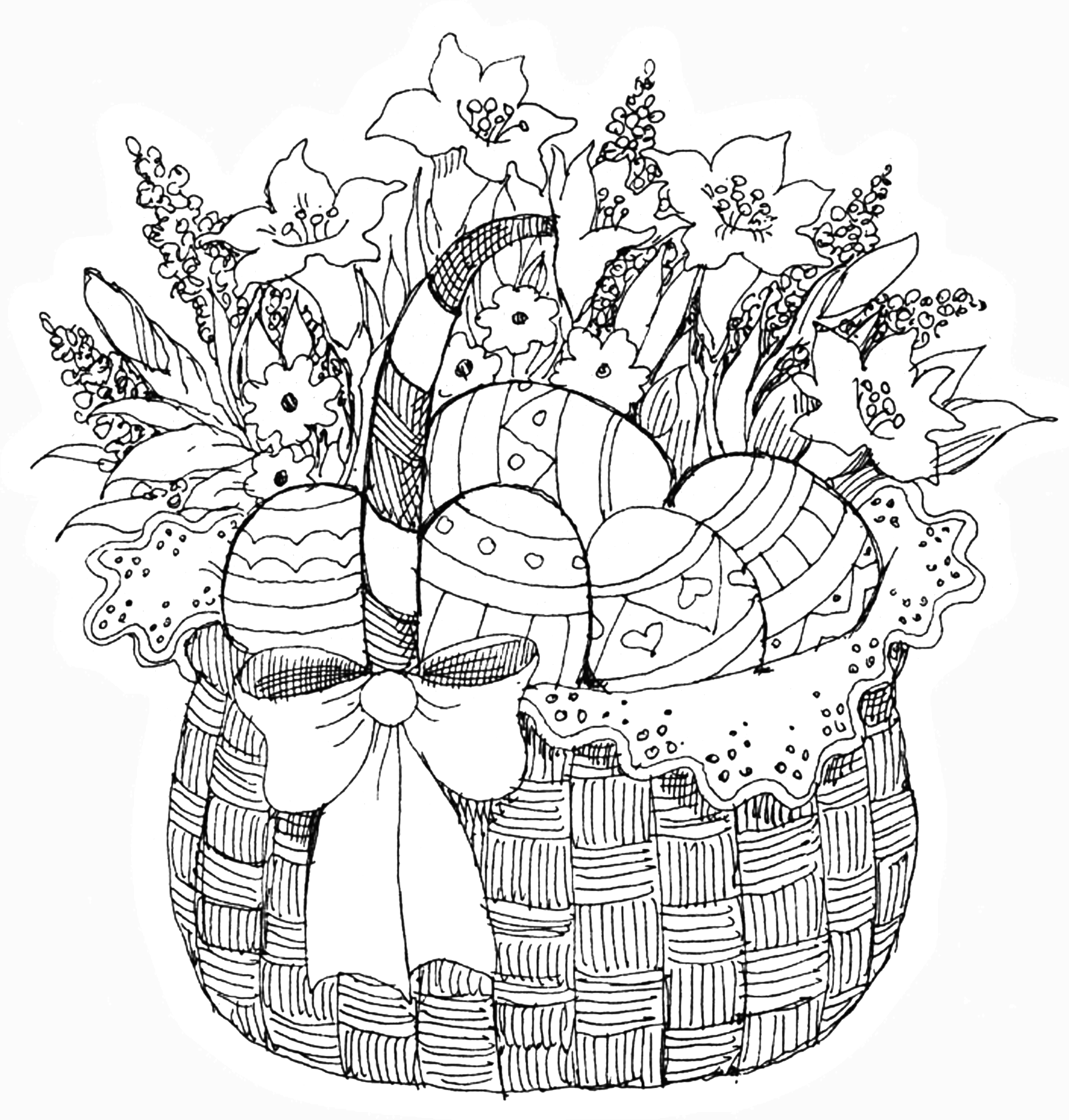 easter colouring pages printable for adults pb easter basket color pages easter coloring pages pages adults easter colouring for printable