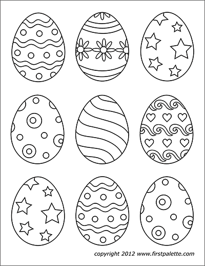 easter egg patterns blank easter egg template to create your own patterns for egg easter patterns