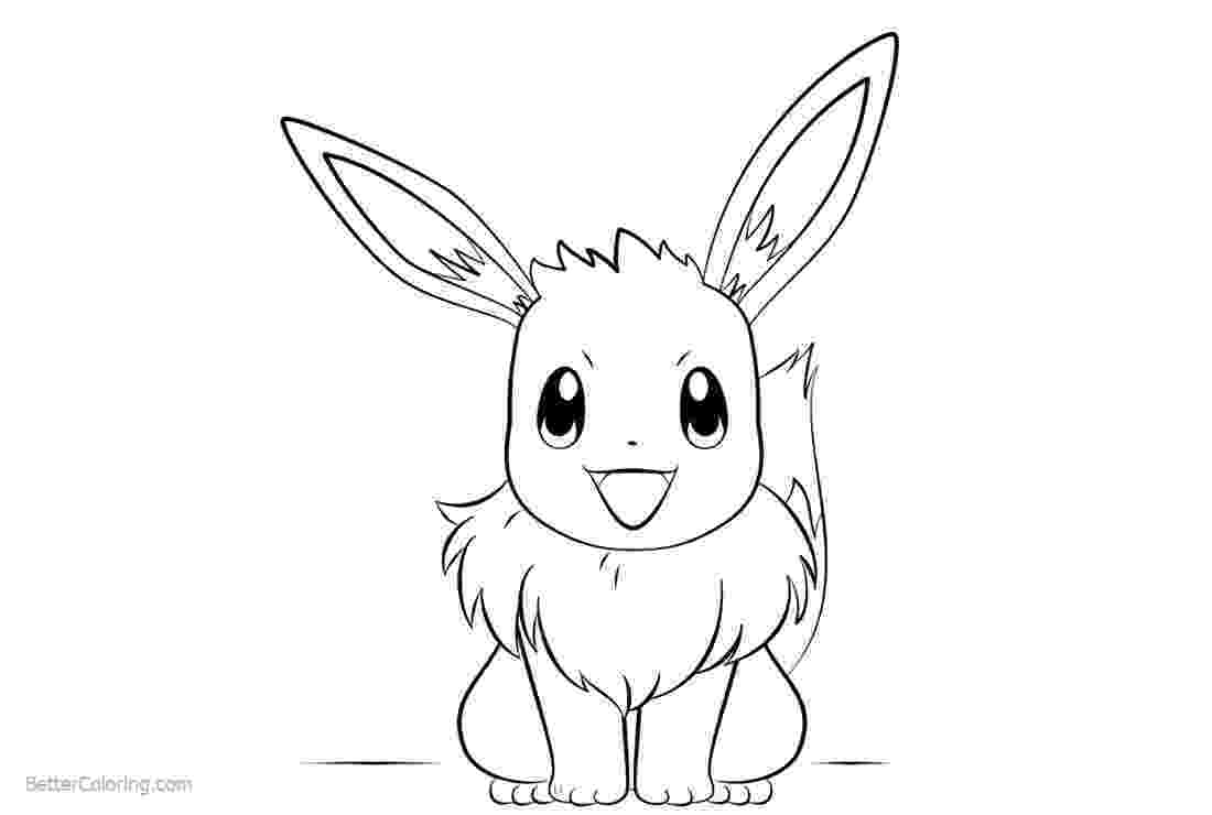 eevee printable coloring pages eevee coloring pages eevee coloring pages printable