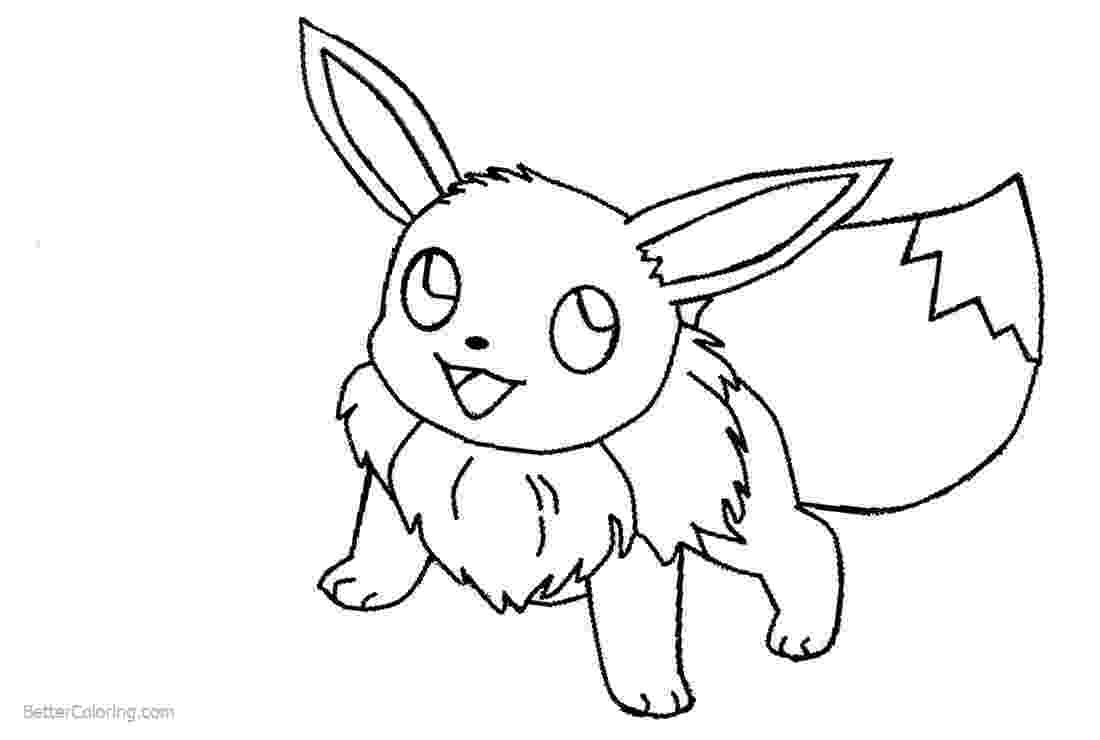 eevee printable coloring pages eevee coloring pages line art free printable coloring pages pages eevee coloring printable