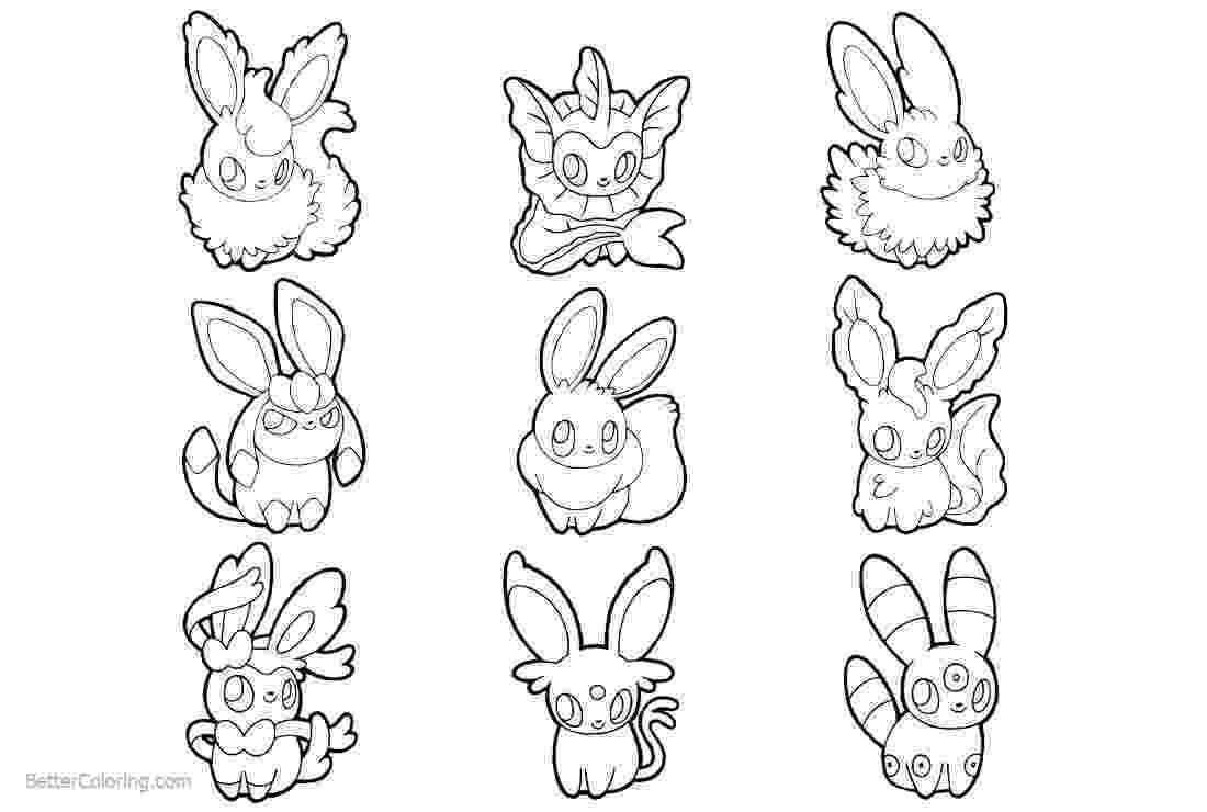 eevee printable coloring pages eevee coloring pages to print at getcoloringscom free coloring pages printable eevee