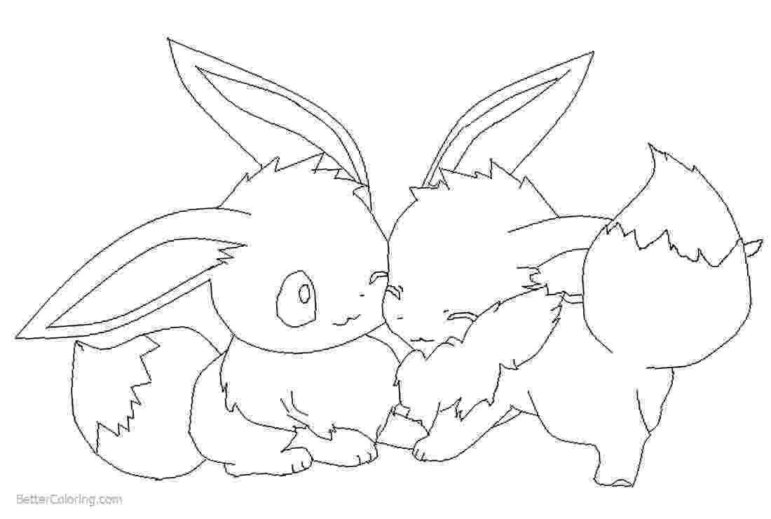 eevee printable coloring pages eevee evolutions coloring pages free printable coloring eevee printable pages coloring