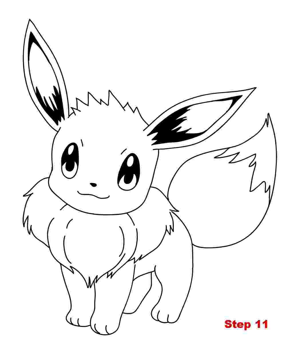 eevee printable coloring pages eevee pokemon coloring pages getcoloringpagescom pages coloring printable eevee