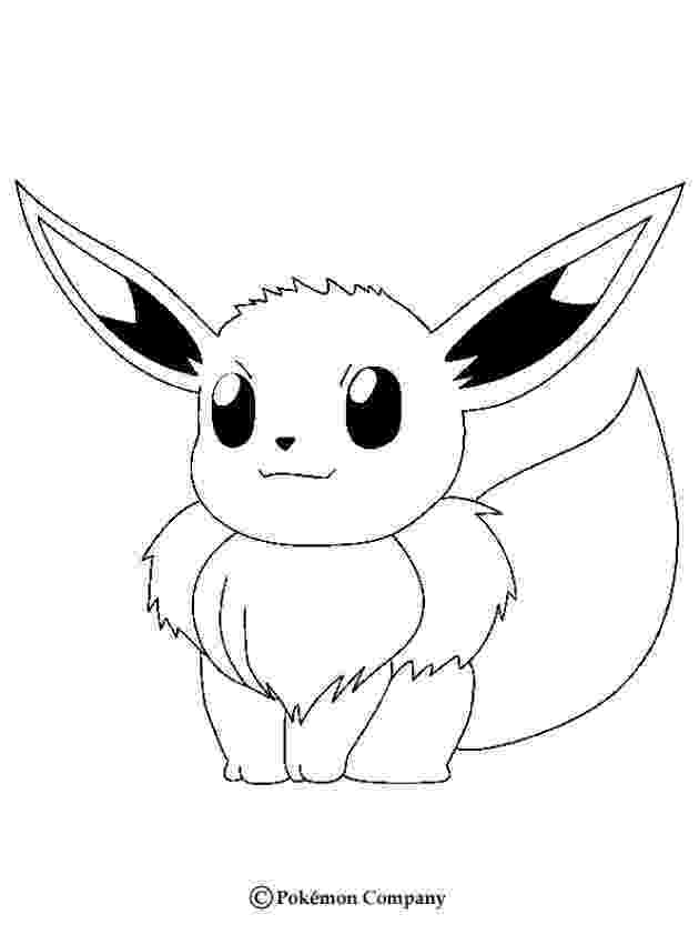 eevee printable coloring pages pokemon coloring pages anime pokemon printables printable eevee pages coloring