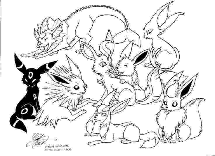 eevee printable coloring pages vaporeon and eevee pokemon coloring pages printable eevee coloring printable pages