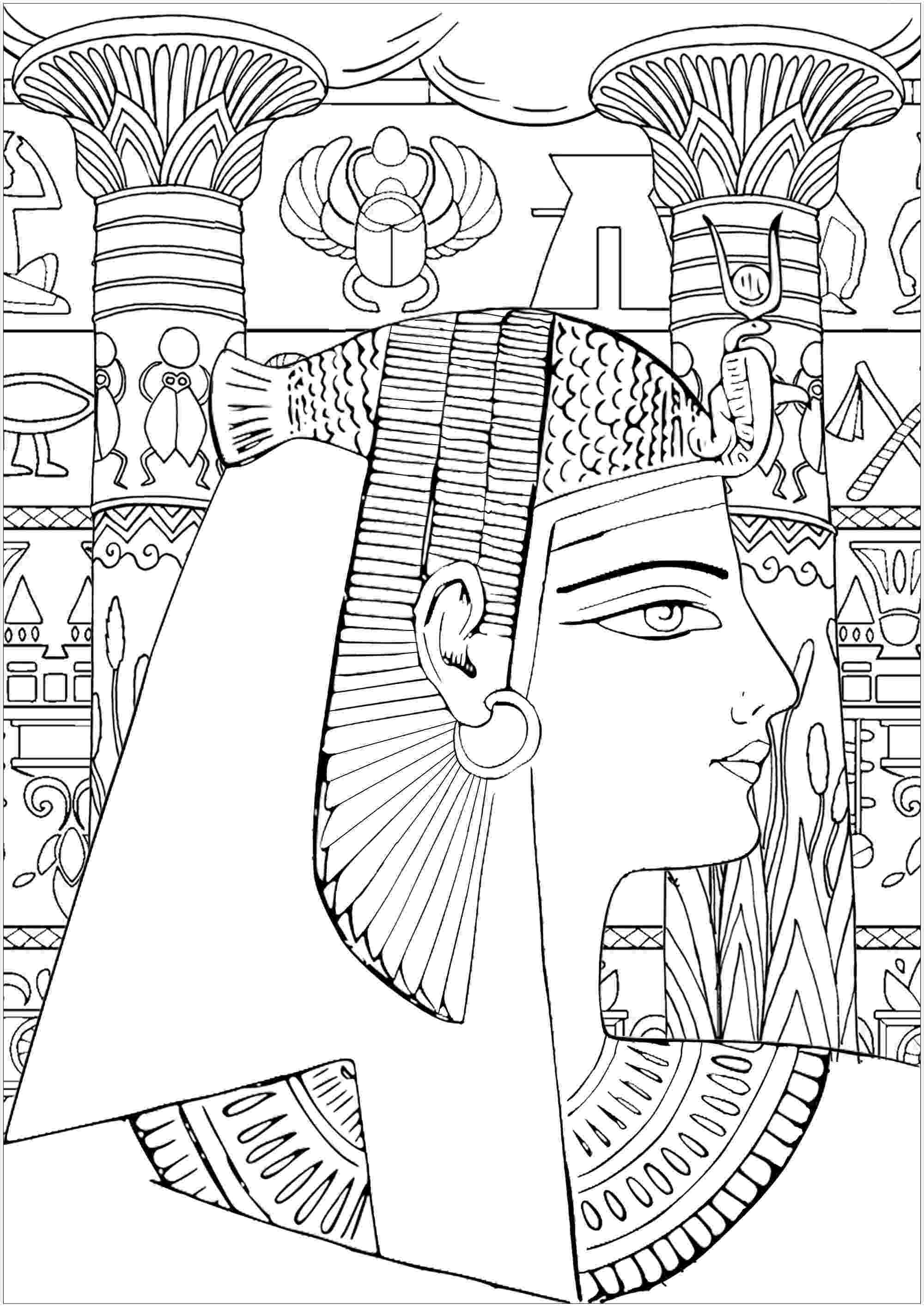 egypt coloring pages ancient egypt coloring pages to download and print for free egypt coloring pages