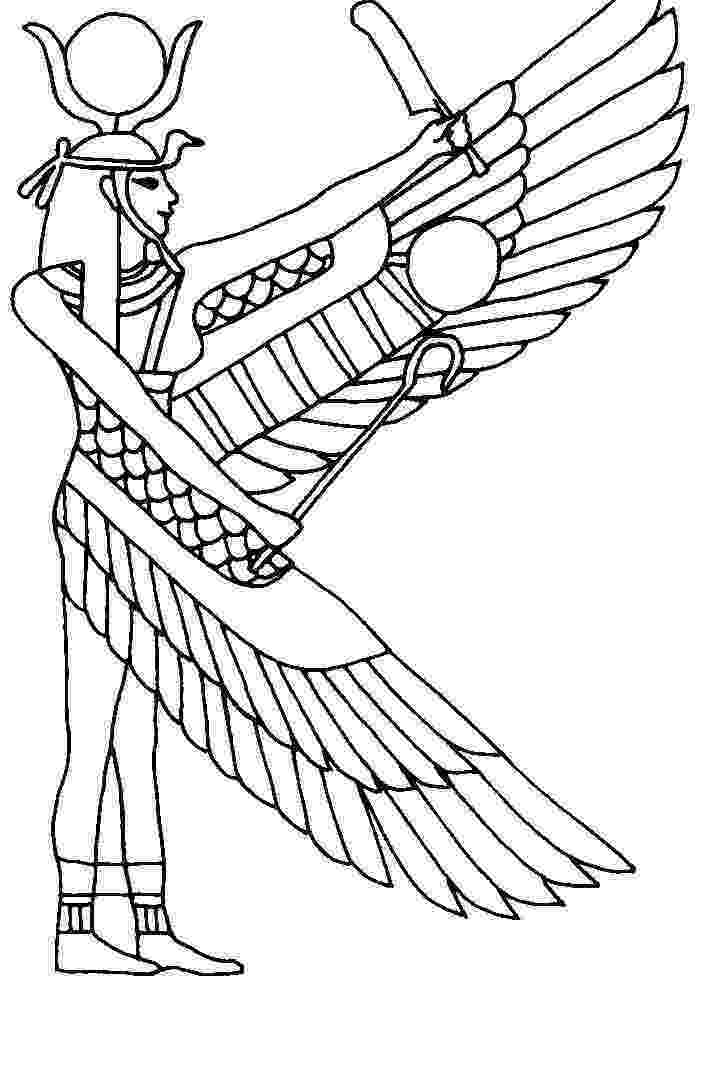 egyptian coloring pages egyptian gods coloring pages coloring home egyptian coloring pages
