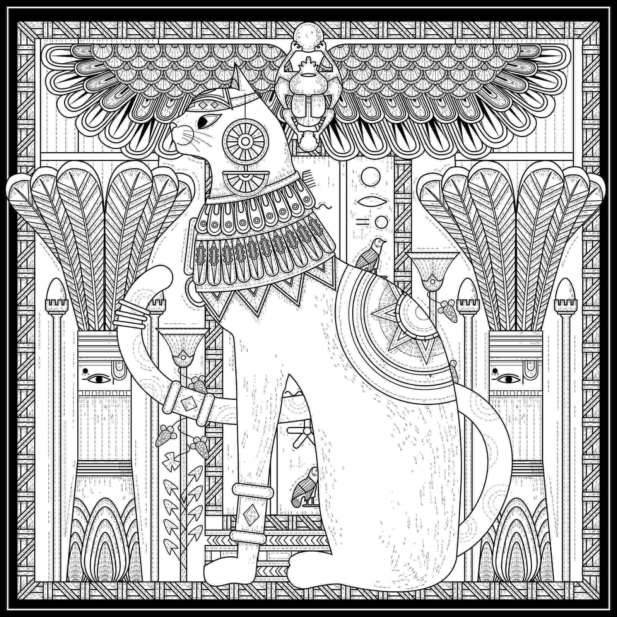 egyptian coloring pages sphinx egypt drawing at getdrawingscom free for coloring egyptian pages