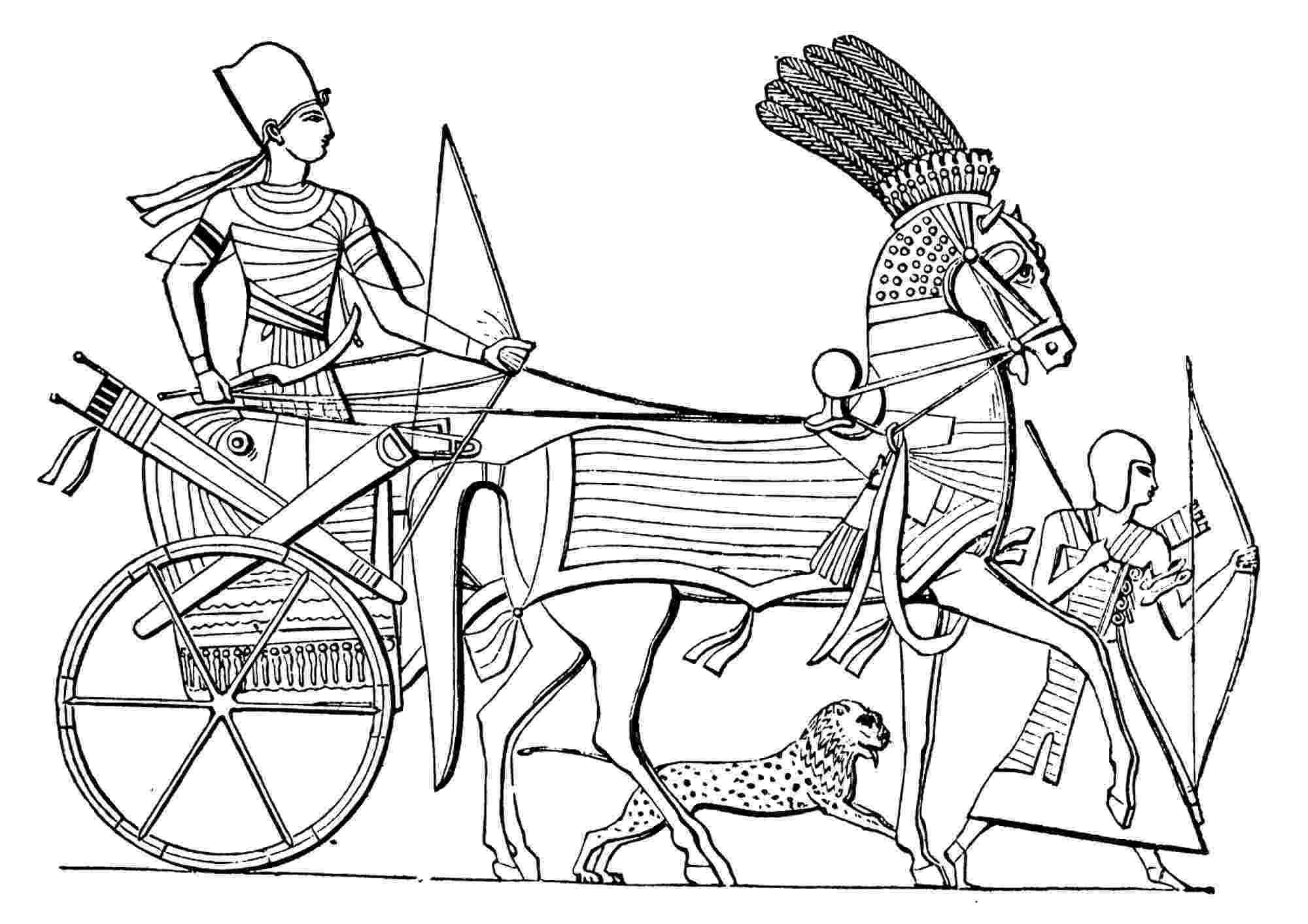 egyptian pictures to color ancient egyptian chariot egypt adult coloring pages color pictures to egyptian
