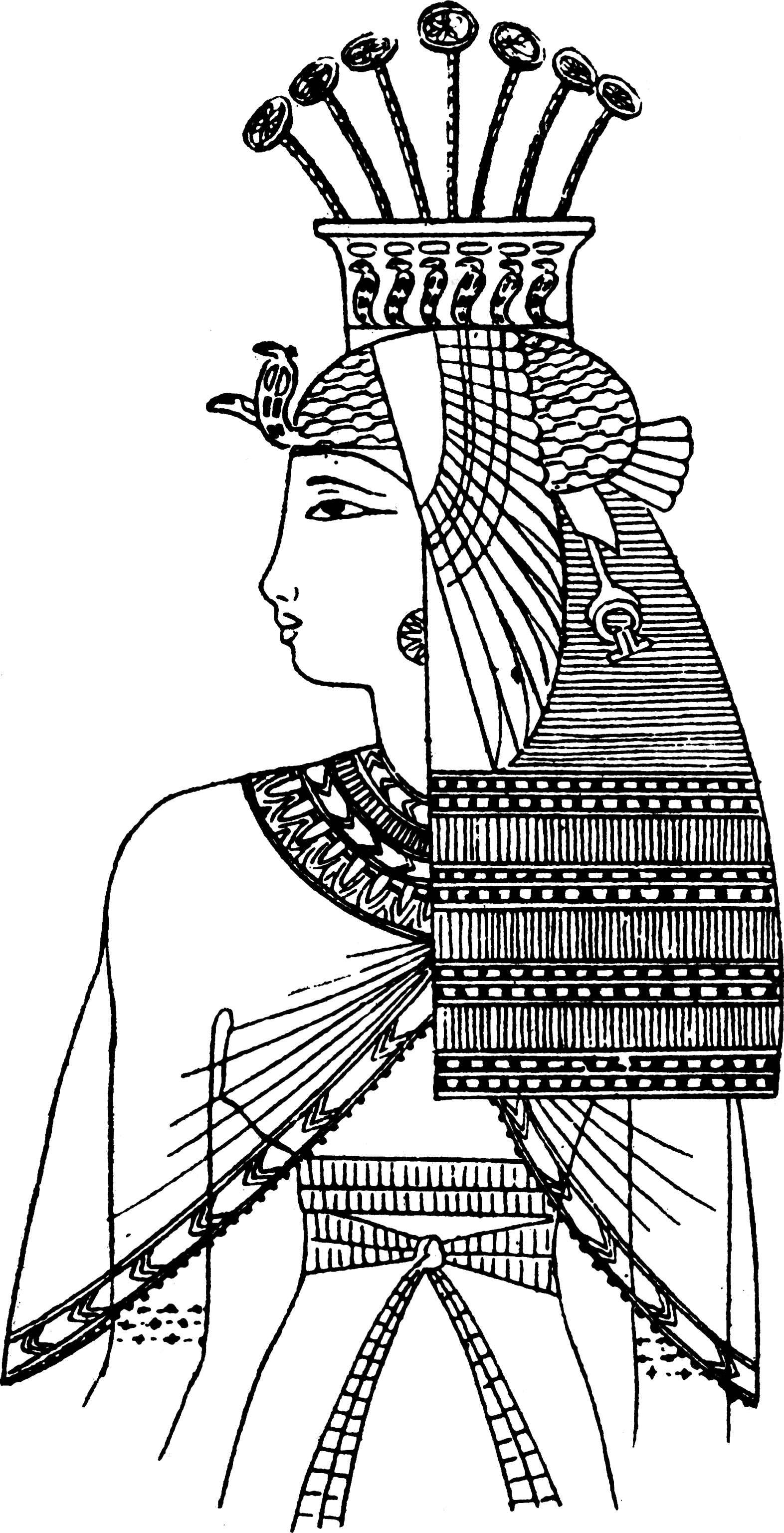 egyptian pictures to color egyptian papyrus painting coloring pages hellokidscom pictures egyptian to color